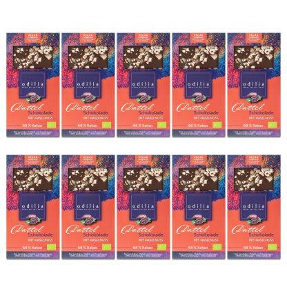 Dattel-Haselnuss-Schokolade-Group